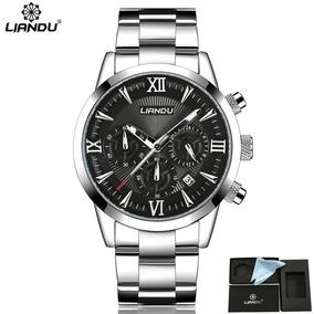 c15d89e5a18e5 Relogio Com Pulseira Fina Masculino - Relógios De Pulso no Mercado ...