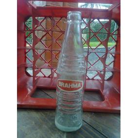 Garrafa De Refri Antigo Laranja Brahma