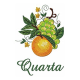 Semaninha Frutas -matriz De Bordado Bc7119