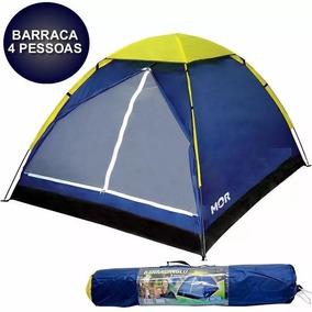 Barraca Camping Iglu 4 Pessoas + Bolsa 009035 Mor