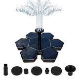 Malenoo Bomba De Fuente Solar Copo De Nieve Forma 15 W Últi