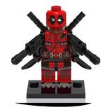 Figuras Super Heroes Marvel Dc Compatibles Lego Deadpool