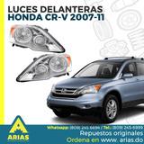 Luces Delantera Para Honda Crv 2007-2011 Original
