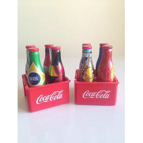 Minigarrafinhas Coca-cola Copa Do Mundo 2014