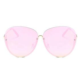 31924f5334 Gafas De Sol Sin Montura De Gran Tamaño De Moda Para Mujer