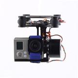 Gimbal 2d Brushless Para Cameras Go Pro 1,2,3 Phantom 1,2