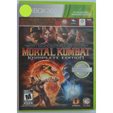 Mortal Kombat Komplete Edition Xbox 360 Play Magic