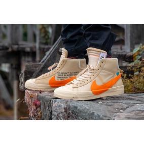 Nike Blazer all Hallows Eve-crema ,naranja