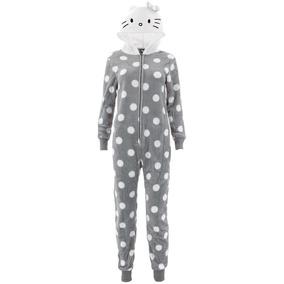 6cbc96721 Precio. Publicidad. Pijamas De 1 Pieza Con Capota Para Mujer De Hello Kitty