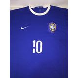 Camisa Selecao Brasileira Ronaldinho 2005 - Camisas de Futebol no ... 8de1e5fca8184
