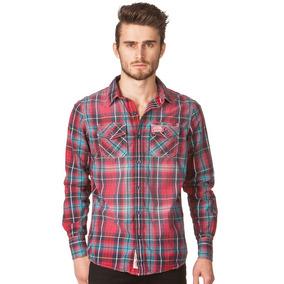 Camisa Superdry Vintage Check Washbasket Shirt...