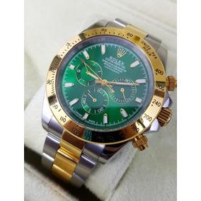 Reloj Rolex Daytona Acero Oro Esfera Verde Automatico