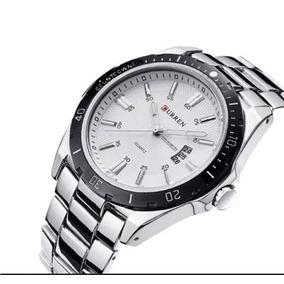 7f289cf45b0 Relogio Aço Fundo Branco - Relógios no Mercado Livre Brasil