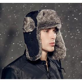 Touca Gorro Aviador Inverno Masculina Unissex Copa Russia 745ae536c45
