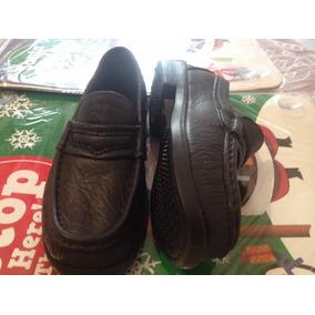 Zapatos Tipo Mocacine Tipo Cheff O Escol.