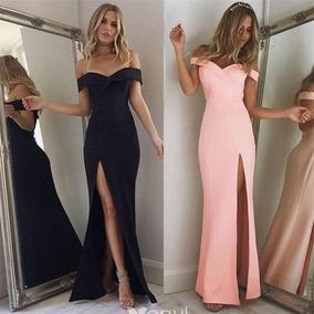 Vestidos Elegantes Ideal Para Fiestas Largos