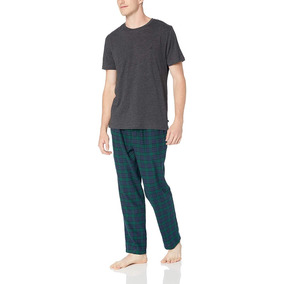 Pijama Nautica Hombre Talla L, 100% Algodón, Original Nueva