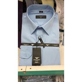 cfa66acb35e75 Cal A Masculina Corte Reto - Camisa Manga Longa no Mercado Livre Brasil