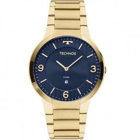 cbe70e284ca Relógio Masculino Technos Slim 2025ltk 4a Dourado - Relógios De ...
