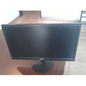 Monitor Lcd 20 Pulgadas Aoc E2070swn Usado Como Nuevo.