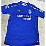 Camisa Chelsea Lampard 2005 06 Centenária Rara Tamanho G 1cc43f5ca8d4f