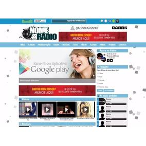 Script Php Site Portal Web Radio Administrável Pronto