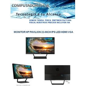 Monitor 22 Pulgadas Hp Pavilion 22-inch Ips Led Hdmi Vga