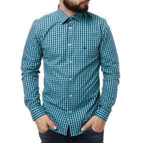 Camisa Xadrez Verde Masculina - Camisa Manga Longa Masculino no ... 3b8c75d42a3