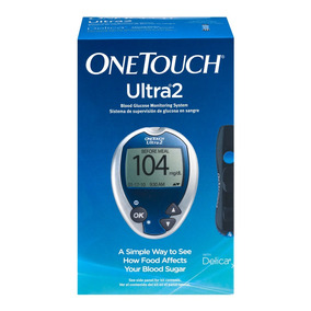 67d944afb402c Kit Medidor De Glucosa Para Diabetes One Touch Ultra Mini - Salud y ...