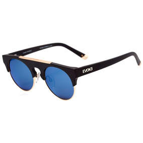 b72dba3a3cb88 Evoke Upper Ii - Óculos De Sol A01s Black Matte  Blue Flash