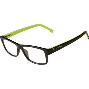 5cfd71f697569 Armacao De Oculos Retangular Lacoste - Óculos no Mercado Livre Brasil