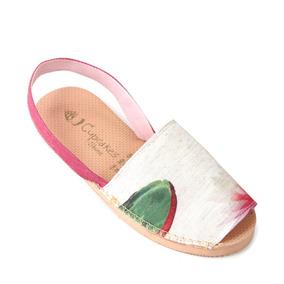 Sandália Avarca Botânica Lotus - Cup Shoes
