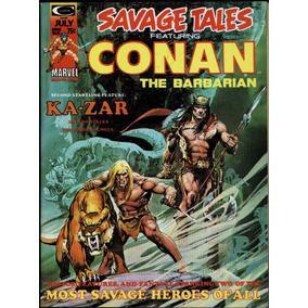 Savage Tales #5 Jul De 1974 Marvel 8.0 (importado) Conan