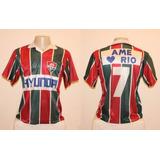 8768539b67 Camisa Fluminense Ame O Rio - Futebol no Mercado Livre Brasil