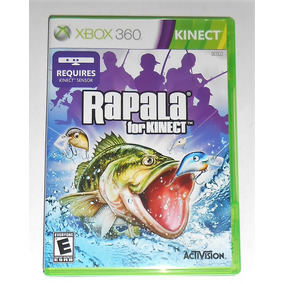 Rapala Kinect Original Completo Xbox 360 Cr $15