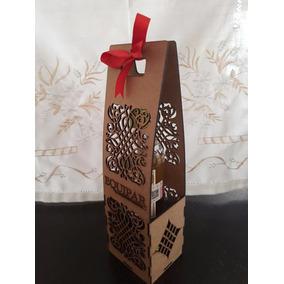 Cajas De Botellas De Vino Personalizadas De Mdf
