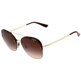 5f4202a489ecd Oculos Vogue Vo2677 Marrom Estilo De Sol - Óculos no Mercado Livre ...