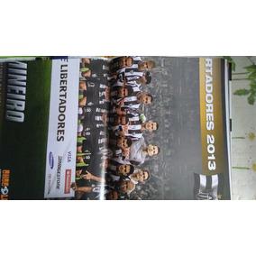Poster Atlético Mg Campeão Da Libertadores 2013 R$ 20,00