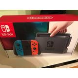 Nintendo Switch 32gb Nuevos + 5 Juegos + Accesorios