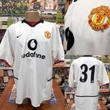 2aee1bf8c4 Camisa Manchester United - Nike - Gg -  31 - 2002 2003