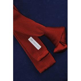 Corbatas Tejidas Punta Cuadrada, Hermoso Diseño 03 A La Moda