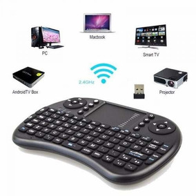 Mini Teclado Controle Wireless Htv Box Pc Android Tv Smart