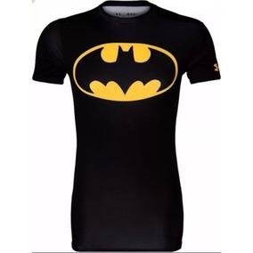 Camisa Termica Compressão Under Armour Batman - Preto 5cc62405dae