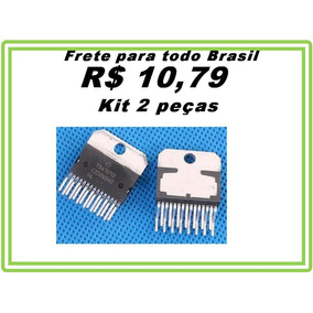 Ci Tda7293 Tda 7293 120v 100w - Kit 2 Peças