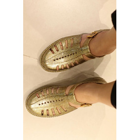 ebc4171929 Melissa Aranha Glitter - Sapatos Dourado escuro no Mercado Livre Brasil