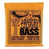 Cuerdas Bajo Ernie Ball 2833 Hybrid Slinky