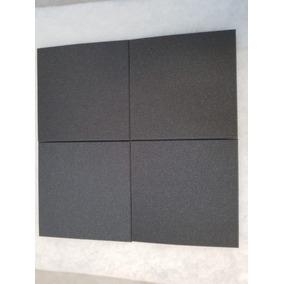Espuma Acústica Kit C/ 10 Placas-50cm X 50cm X 2cm-lisa Novo