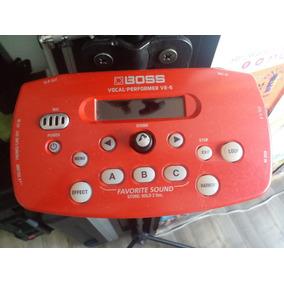 Atención Cantantes Procesador De Voz Boss Performer Ve-5