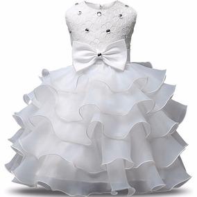Vestido Infantil De Festa Casamento Formatura Luxo Daminha