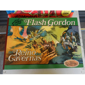 Flash Gordon! Vol 2! No Reino Das Cavernas! Ebal 1974! Numer